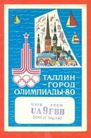 QSL-RADIO AMATORIALE - USSR - MOSKOW - OLIMPIADI MOSCA- PERM-ZONE 17 - Radio Amatoriale