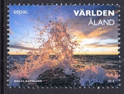 24.- ALAND 2018  JOINT ISSUE SEPAC 2018 SPECTACULAR VIEWS - Emissions Communes