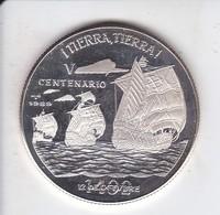 MONEDA DE PLATA DE CUBA DE 10 PESOS AÑO 1989 TIERRA-TIERRA (SILVER-ARGENT) BARCO-SHIP - Cuba