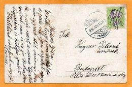 Hungary 1916 Postcard Mailed Pencil Canceled - Hungary