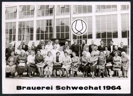C4190 - Schwechat Brauerei - Foto Ansichtskarte - Bruck An Der Leitha