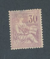 FRANCE - N°YT 115 NEUF* AVEC CHARNIERE - COTE YT : 90€ - 1900/01 - 1900-02 Mouchon