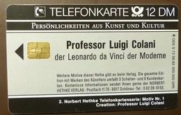S 72 09.92   12  DM  Mint Voll       Colani Porsche     #TK74 - Allemagne