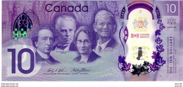 Canada P.112  10 Dollars 2017 Unc - Kanada
