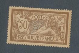 FRANCE - N°YT 120d) NEUF* AVEC GOMME ALTEREE AVEC PAPIER GC - COTE YT : 225€ - 1900 - 1900-27 Merson