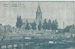Deinze - Deynze - L'Eglise Et La Lys - De Kerk En De Lei - Deinze