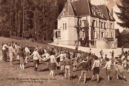 25 -MAÎCHE -- 'Château De La Jeunesse' - Colonies De Vacances PEUGEOT-. - France