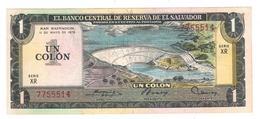 El Salvador 1 Colon 1978 , XF. - El Salvador