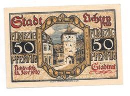 **notgeld Lichtenfels 50 Pfennig L36.9 Cat Val 2,00 Euro - [11] Local Banknote Issues