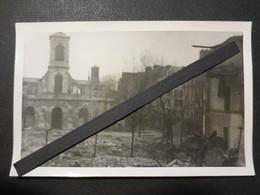 Le Havre - Carte Photo - Eglise St François   Après Bombardement Du 5/9/ 44  - TBE - Cliché Peu Commun - - Le Havre