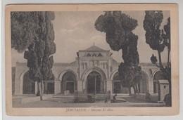 Jerusalem Mosquee El Aksa - Israele
