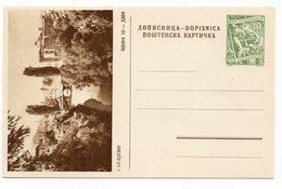 10 DINARA GREEN, AROUND 1956, SARAJEVO, BRIDGE, BOSNIA, YUGOSLAVIA, POSTCARD, NOT USED - Bosnia And Herzegovina