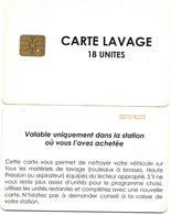 @+ Carte De Lavage ELF - 18 UNITES - France - Frankrijk