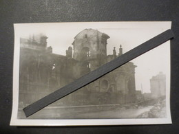 Le Havre - Carte Photo - Vue Arrière De Notre Dame  Après Bombardement Du 5/9/ 44  - TBE - - Le Havre