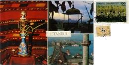 TURKYE  TURKIYE  TURCHIA  ISTANBUL  Multiview  Nargile  Nice Stamps - Turchia