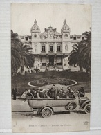Monte-Carlo. Façade Du Casino. Bus. Autocar - Monte-Carlo