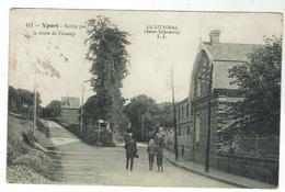 YPORT - Sortie Par La Route De Fécamp-  Bon état - Circulée 1916 - Yport