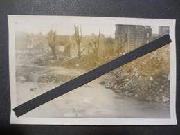 Le Havre - Carte Photo - Rue Jeanne Hachette - Brasserie Paillette Au Fond Après Bombardement Du 5/9/ 44  - TBE - - Le Havre