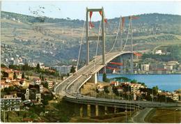 TURKYE  TURKIYE  TURCHIA  ISTANBUL  Bogaz Köprüsü - Turchia