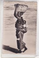 DAKAR. PROMENADE!. ED CARNAUD FRERES-ETHNIC VINTAGE FOLK WOMAN & BOY CPA CIRCA 1900s - BLEUP - Africa