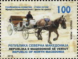 Republic Of North Macedonia / 2019 / Transportation Means / Old Carriages - Macédoine