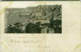 GAETA ( LATINA ) VEDUTA DELLA CITTA' DA MONTE ORLANDO - EDIZ. RICHTER - 1900s  (3166) - Latina