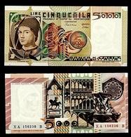 5.000 ANTONELLO DA MESSINA SERIE SOSTITUTIVA XA 156236 B DECRETO 01/07/1980 RRR SUP/FDS  (12/11/r) - [ 2] 1946-… Republik