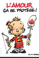 Carte Boomerang / Guidcoh - Spirou - L'amour ça Se Protège - Publicité