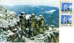 AUSTRALIA  KATOOMBA  Blue Mountains  Three Sisters  Nice Stamps Living Together - Australia