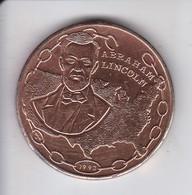 MONEDA DE CUBA DE 1 PESO DEL AÑO 1993 DE ABRAHAM LINCOLN - Cuba