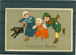 Relief - Gaufrée - Embossed - Prage - Enfants - TBE - Bambini