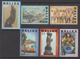 2007 Belize Art Culture   Complete Set Of 6 MNH - Belize (1973-...)