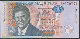 Mauritius 1000 Rupees 2017 P63d UNC - Maurice