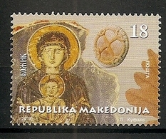 MACEDONIA 2018, CHRISTMAS,RELIGION,MNH - Macédoine