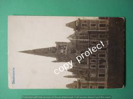 Dadizele Dadezeele Moorslede Kerk Echte Foto Fotokaart Real Picture WW1 - Moorslede