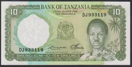 Tanzania 10 Shilingi 1966 P2e UNC - Tanzania
