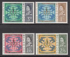 1968 Bermuda Human Rights   Complete Set Of 4 MNH - Bermuda
