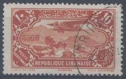 France, Grand Liban : Poste Aérienne N° 44 Oblitéré Année 1930 - Luftpost