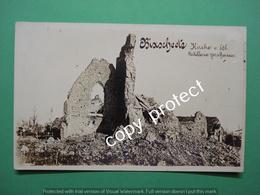 Bikschote Bixschote Kerk 1916 Fotokaart Real Picture Echte Foto - Langemark-Poelkapelle