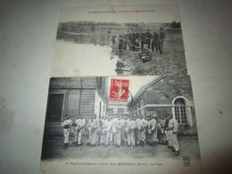 2 CPA Carte Postale 60 Regiment Infanterie Besancon Caserne Ruty - Besancon