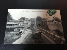 10 - LOYES Vue Generale Des Remparts - 1910 Timbrée - France