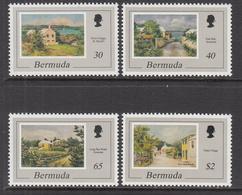 1998 Bermuda Art Paintings Complete Set Of 4 MNH - Bermuda