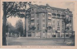 Bt - Cpa NANTES - Boulevards Des Anglais Et Meusnier De Querlon - Nantes