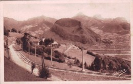 38 - Isere -  Ligne Du VILLARD DE LANS Et Le Massif De La Chartreuse - Villard-de-Lans