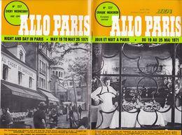 Allo Paris   1971   (32  Pages   Fmt B 5) - Cinéma/Télévision