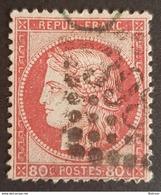 1870 - 1875, Ceres, 80c, Rose, France, Empire Française - 1871-1875 Ceres