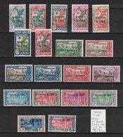 Inini - 19 Timbres Première Série Oblitérés SAINT-ELIE - 19 First Set Used Stamps - Used Stamps