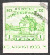 United States - Scott #730a Used - United States
