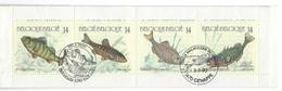 België O.B.C   Boekje 20  (2383 / 2386)  Vissen - Used Stamps