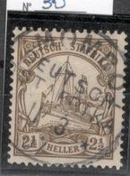 D.O.A.DEUTSCH OSTAFRIKA.1905.MICHEL N°30.OBLITERE.19D45 - Colonie: Afrique Orientale